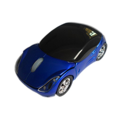 Generic Wireless 43 USB Mouse for Computer Color Blue