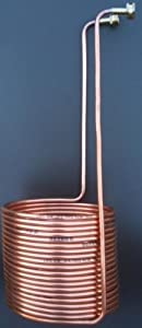 50' Copper Chiller Immersion Coil