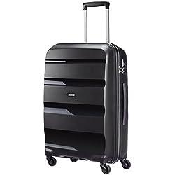 American Tourister Bon Air Spinner M Maletas y trolleys, 66 cm, 53 L, Negro (Negro)