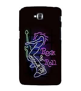 printtech Rock & Roll Pop Culture LED Back Case Cover for LG GPro Lite / LG G Pro Lite Dual D686