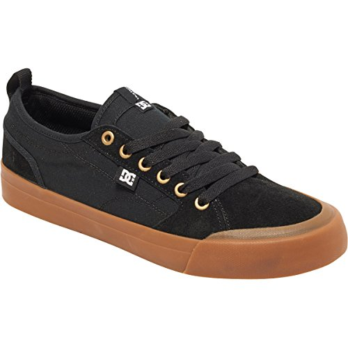 DC Mens Evan Smith S Shoes, Black/Gum, 9.5D