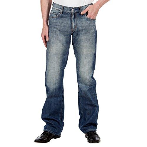 Mustang - Jeans, Uomo, Blu (Strong bleach), 44 IT (30W/26L)