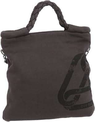 Diesel Women's Pepp Grab/Crossbody Bag Drk Shadow Medium