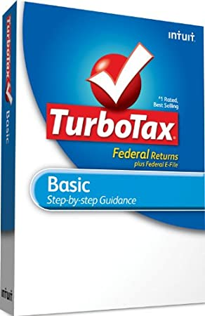 TurboTax Basic Federal + e-File 2010 - [Old Version]