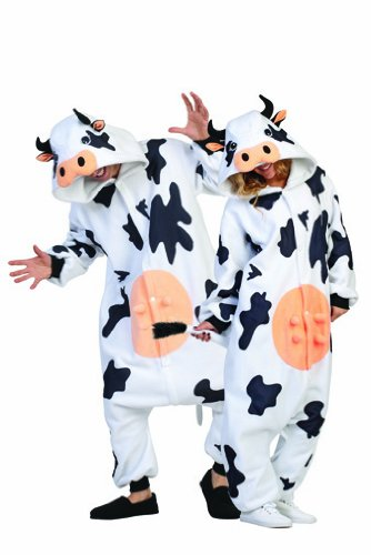 Adult Casey the Cow Costume Pajamas