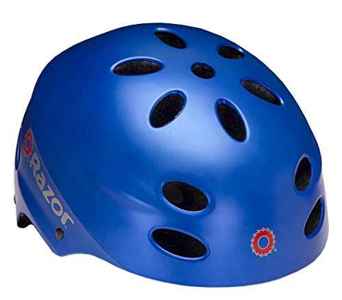 Razor V-17 Child Helmet, Satin Blue
