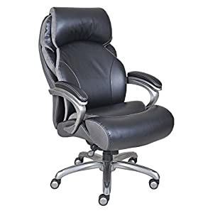 Serta Smart Layers Big and Tall Executive Office Chair with Air Technology