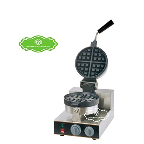 Hanchen Instrument Electrical FY-2205A Single Head Non-Rotating Waffle Iron Muffins Making Machine Baker (110v) (Waffle Maker Non Teflon compare prices)