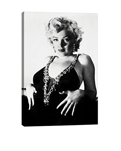 Retro Images Marilyn Monroe At Her Best Archive Gallery-Wrapped Canvas Print