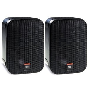 JBL Control 1PRO Two-Way Compact Loudspeaker System (pair) - Black - CONTROL1PROBK