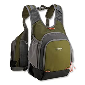 Orvis Safe Passage Tri Pack Fishing Vest - Willow Green