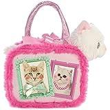 Aurora World Aurora World Fancy Pals Pet Carrier Best Kitties Playset Pink