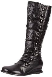 Miz Mooz Women's Bloom Knee-High Extended Calf Boot