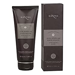 Mantra Authentic Ayurvedic Aloe, Kewra And White Willow After Shave Gel For Men 100 ml With Free Ayur Sunscreen 50 ml