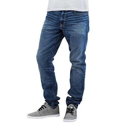 DC Washed Slim Jeans Light Worn Blue 32/34