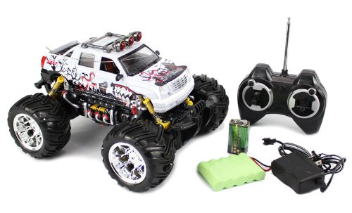 1:16 Cadillac Escalade Monster Truck RC Remote Control car with Rechargeable Batteries RTR RC Monster Truck (Colors May Vary)
