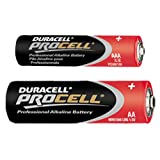 All Trade Direct 40 MIXED DURACELL PROCELL AA & AAA 2019 ALKALINE BATTERY BATTERIES MN2400 MN1500