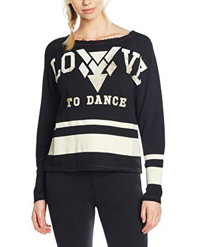 Dimensione Danza Camiseta Manga Larga Flash Dance