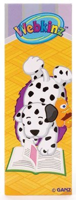 Webkinz Magnetic Bookmark - DALMATIANS