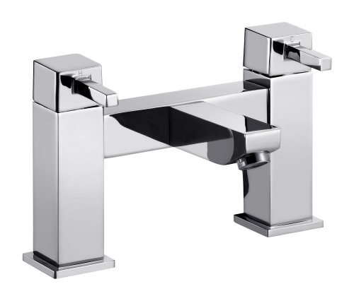 Fantine Chrome Deck Mounted Bath Filler Tap Picture