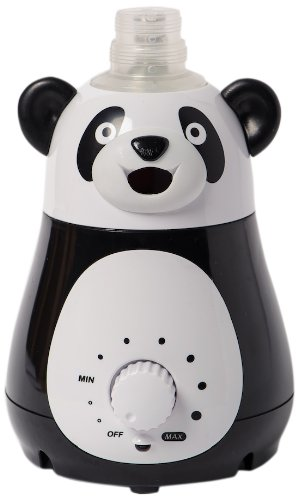 Bell+Howell Ultrasonic Panda Design Personal Portable Humidifier for Kids and Babies -Cool Mist- lasts up to 12 hours per water bottle - 1