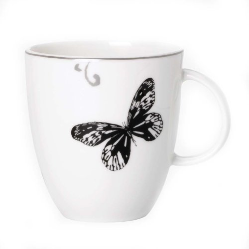 Lenox Simply Fine Flutter 10-Ounce Tea/Coffee Cup