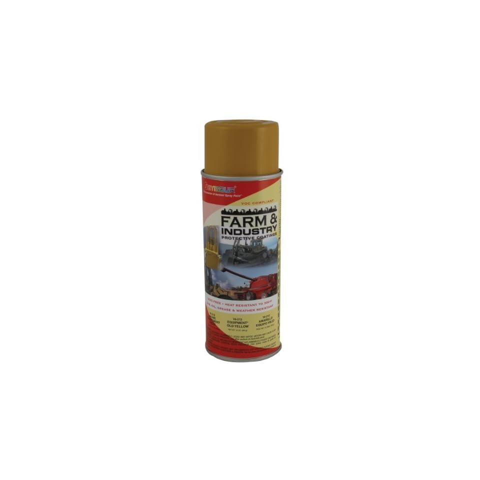 Seymour 16 212 Farm and Industry Enamel Spray Paint, Yellow