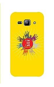 Zapcase Printed Back Case For Samsung Galaxy J2