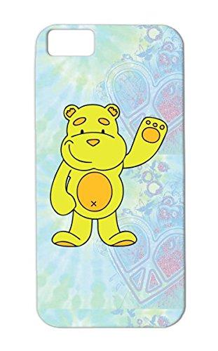 Child Bear Baby Funny Teddy Bears Figure Blanket Animal Cartoon Plush Yellow Protective Hard Case For Iphone 5C Teddy Bear Skid-Proof front-372145