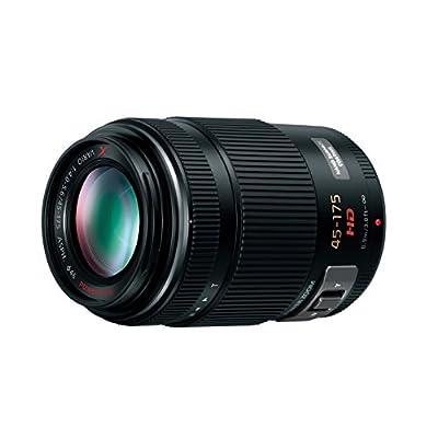 Panasonic マイクロフォーサーズ用 45-175mm/F4.0-5.6 電動ズーム搭載望遠レンズ ブラック G X VARIO PZ ASPH. POWER O.I.S. H-PS45175-K