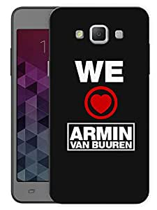 """Humor Gang We Love Armin Printed Designer Mobile Back Cover For """"Samsung Galaxy A3"""" (3D, Matte, Premium Quality Snap On Case)"""