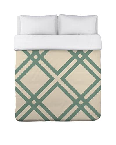 One Bella Casa Thatched Duvet Cover