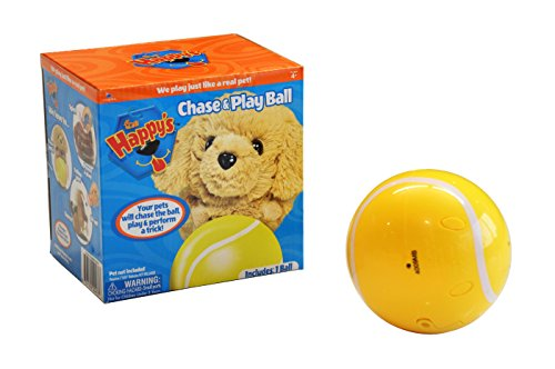 The Happy's Chase and Play Ball Plush - 1