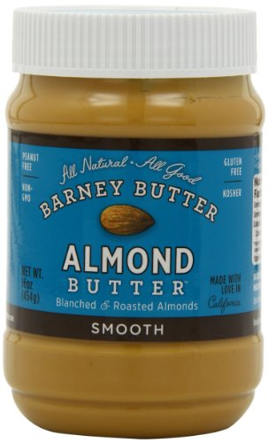 Barney Butter  Smooth Almond Butter, 16-Ounce Jars (Pack of 3)
