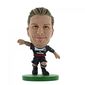 Paris St Germain F.C. SoccerStarz Beckham- David Beckham- soccerstarz figure- 2 inches tall- with collectors card- in blister pack- official licensed product by Limited Stock / Collectables