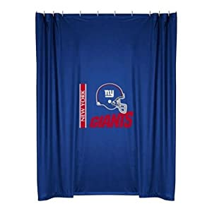 NFL New York Giants Shower Curtain by Sports Coverage