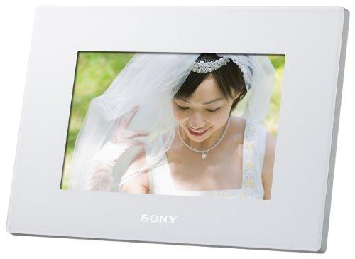 SONY デジタルフォトフレーム S-Frame D720 7.0型 内蔵メモリー2GB ホワイト DPF-D720/W