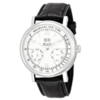 [ブルッキアーナ]BROOKIANA 機械式(自動巻き)腕時計 ビッグデイト・ダト配列マルチカレンダー BA1665-SV メンズ