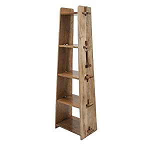 69 brown mango wood tongue and groove ladder. Black Bedroom Furniture Sets. Home Design Ideas