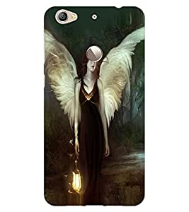 ColourCraft Angel Design Back Case Cover for LeEco Le 1S