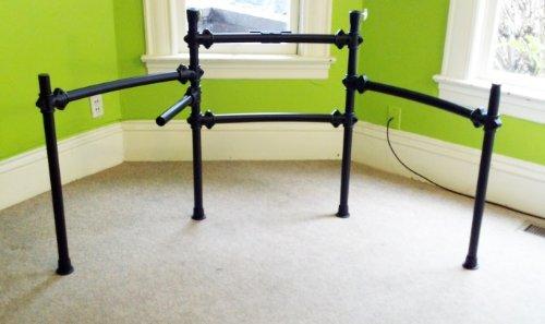 galleon alesis dm10 electronic drum rack with 2 cymbal arms compatible w dm4 dm5 dm6 dm7. Black Bedroom Furniture Sets. Home Design Ideas