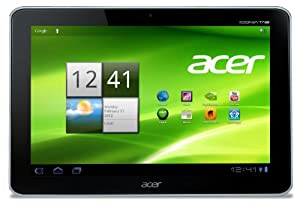 Acer Iconia A210 25,7 cm (10,1 Zoll) Tablet-PC (NVIDIA Tegra 3 Quad-Core, 1,2GHz, 1GB RAM, 16GB eMMC, Android 4.1) weiß