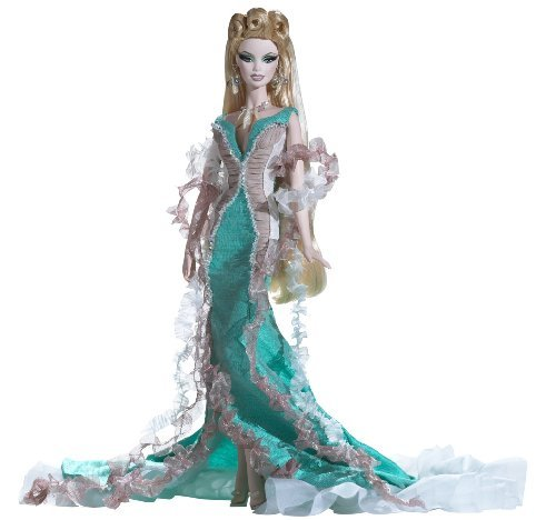 Barbie-Exclusive-2009-GOLD-Fantasy-Series-APHRODITE-by-Barbie
