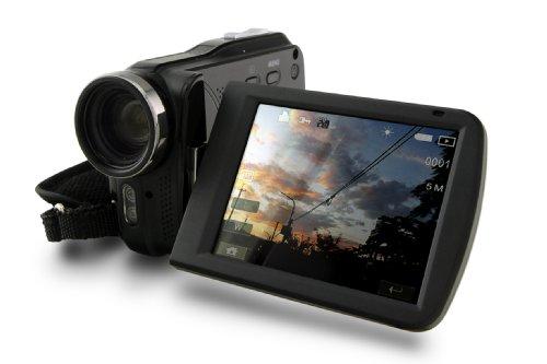 Praktica DVC5.7 High Definiton 1080p Camcorder (5x Optical Zoom, 4x Digital Zoom) 3.0 inch Touch Screen