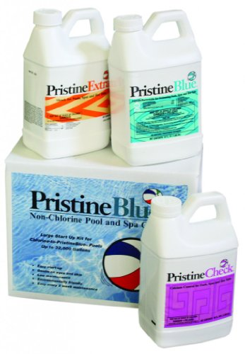Pristine Blue Pool Start up Kit (Large) for Pools up to 32,000 Gallons