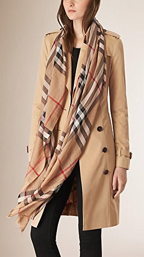 burberry silk scarf outlet  burberry checked wool