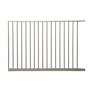 """Dreambaby Magnetic Sure Close Gate Extension, Silver, 41"""""""
