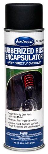 NEW Eastwood Rubberized Rust Encapsulator Black Undercoating Case of 12