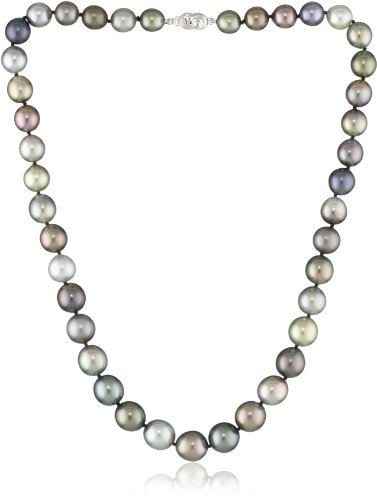 TARA Pearls Tahitian Multicolor 10.9x8.2mm Pearl Necklace