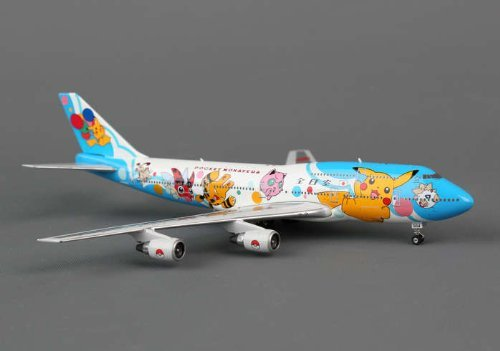 全日空 ANA JA8964 ポケモンジェット 1999 B747-400D 1/400 Phoenix [並行輸入品]